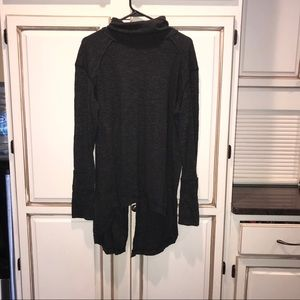 Free people open back sweater